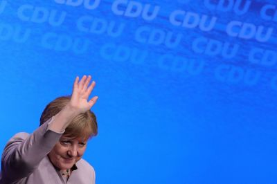 "alt=""Merkel's party defeats Social Democrats in German state election"""