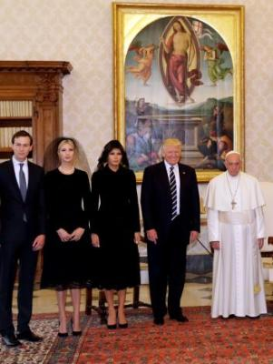 "alt=""Pope asks Trump to be peacemaker"""