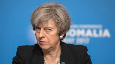 "alt=""May could lose control of parliament as Brexit negotiations heat up"""