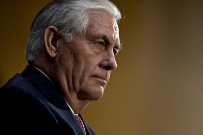 "alt=""Tillerson says China must step up to resolve North Korea issue"""