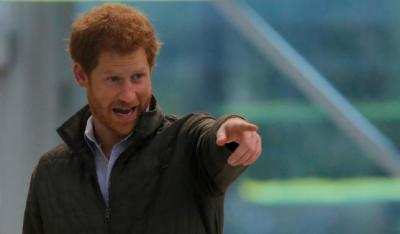 "alt=""No royal wants to be king or queen, Britain's Prince Harry says"""