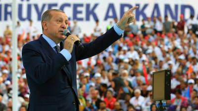 "alt=""Erdogan shakes up Turkey's ruling party with eye on next election"""