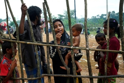"alt=""Hundreds are dead in Burma as the Rohingya crisis explodes again"""