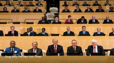 "alt=""The UN General Assembly is a particularly big moment for Trump"""