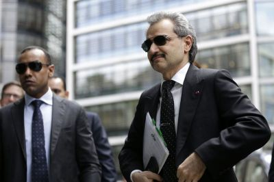 "alt=""Saudi Squeeze on Alwaleed Has More at Stake Than Money"""