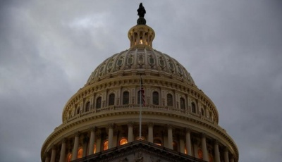"alt=""U.S. government shutdown begins as spending bill fails in Senate"""