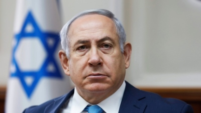 "alt=""Police recommend indicting Netanyahu on corruption, bribery charges"""