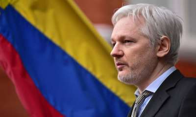 "alt=""Ecuador cuts off Julian Assange's internet access at London embassy"""