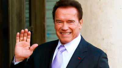 "alt=""Schwarzenegger in stable condition after heart surgery in L.A."""
