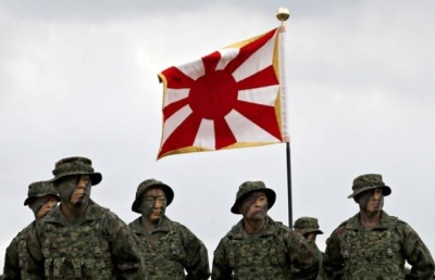 "alt=""Japan activates first marines since WW2 to bolster defenses against China"""