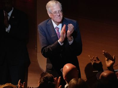 "alt=""David Koch Steps Down From Family Business, Political Work"""