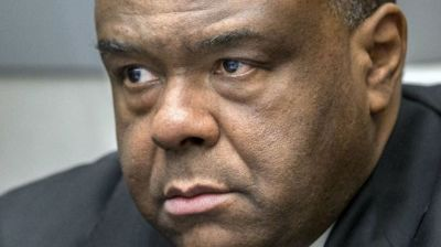 "alt=""Jean-Pierre Bemba: Congo warlord's conviction overturned"""