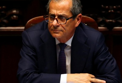 "alt=""Italian economy minister reiterates that euro currency not in doubt"""
