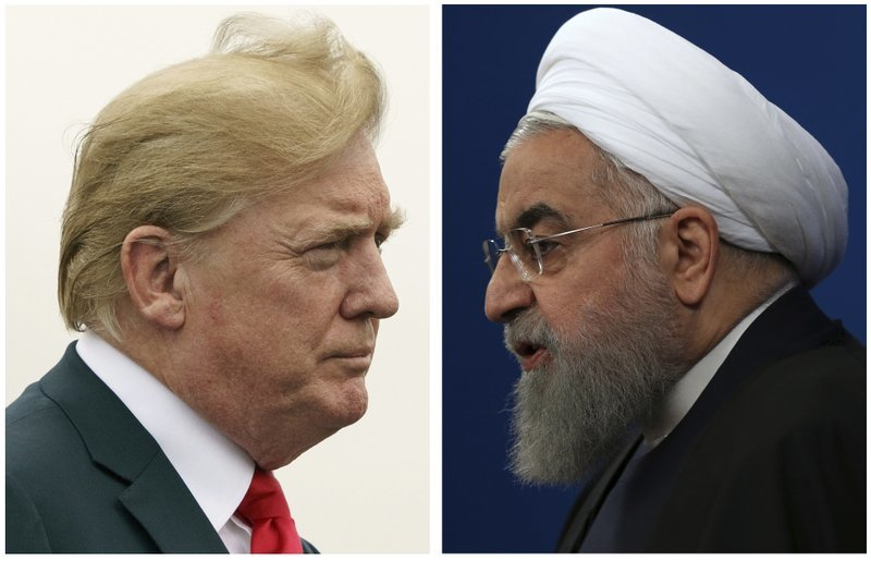 "alt=""Just tough Trump tweeting? US ratchets up Iran pressure"""