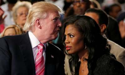 "alt=""Omarosa says Trump is a racist who uses N-word & claims there is tape to prove it"""