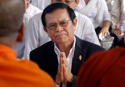 "alt=""Kem Sokha, Cambodia's Jailed Opposition Leader, Is Released"""