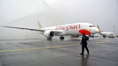"alt=""'No survivors' from crashed Ethiopian Airlines flight with 149 passengers & 8 crew"""