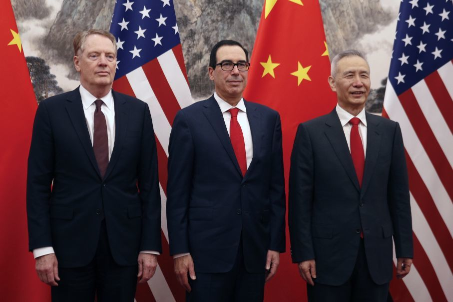 "alt=""Trump officials say China pursuing 'blame game' on breakdown of trade talks"""